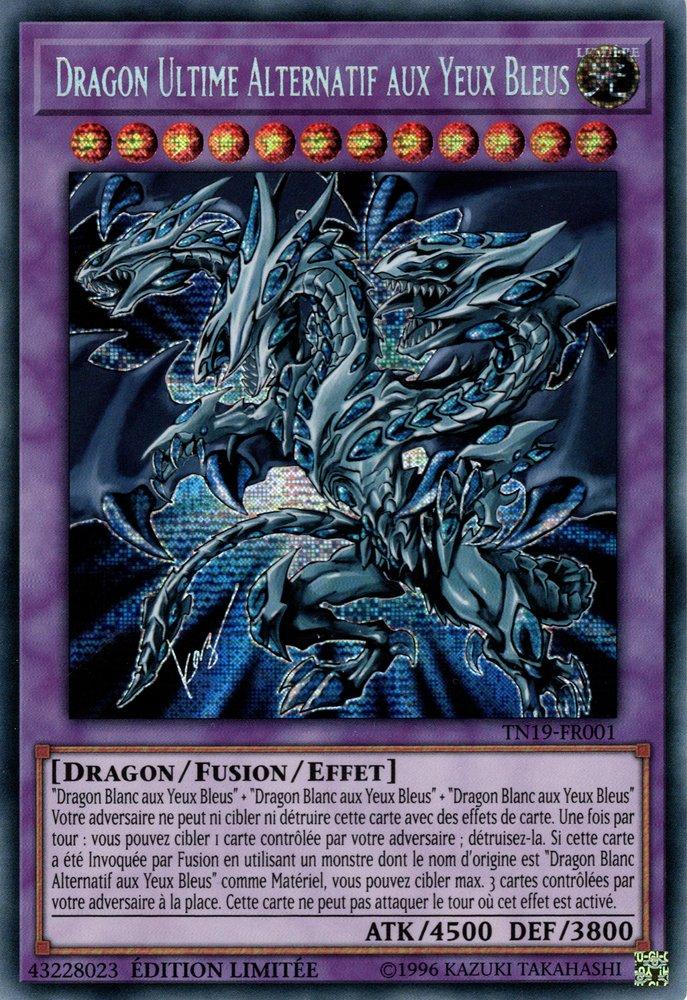 Dragon Ultime Alternatif aux Yeux Bleus
