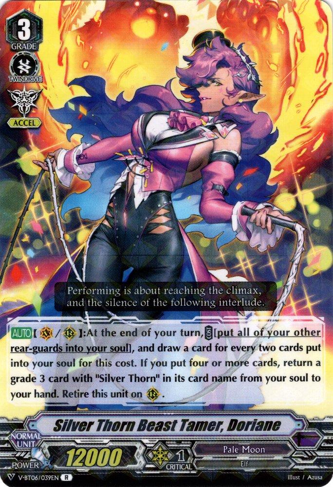V-BT06/039EN Silver Thorn Beast Tamer, Doriane Rare (R)