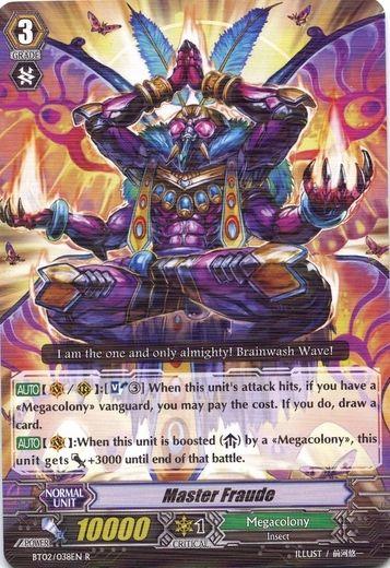 BT02/038EN Master Fraude Rare (R)