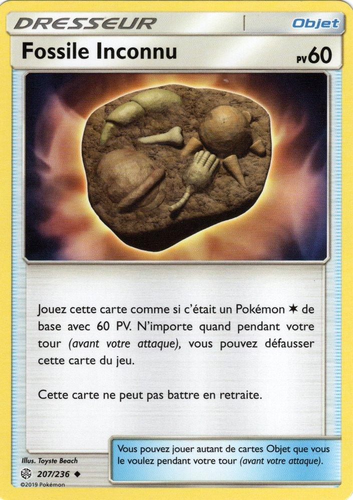 SL12_207/236 Fossile Inconnu Peu commune