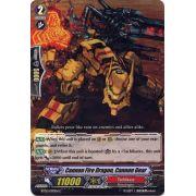 BT02/070EN Cannon Fire Dragon, Cannon Gear Commune (C)