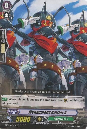 BT02/078EN Megacolony Battler A Commune (C)