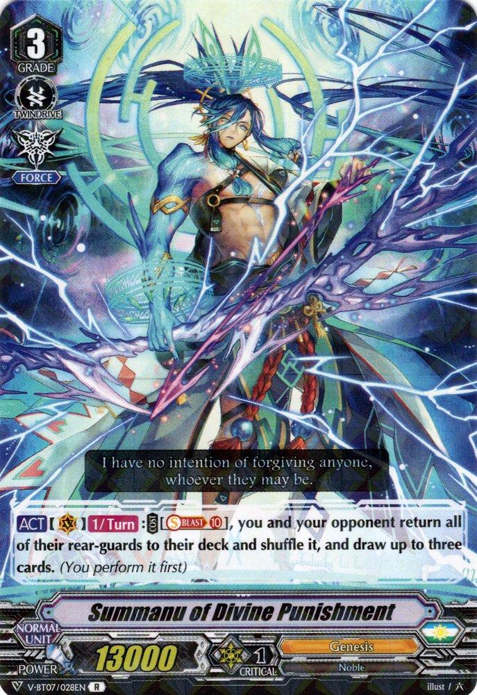 V-BT07/028EN Summanu of Divine Punishment Rare (R)