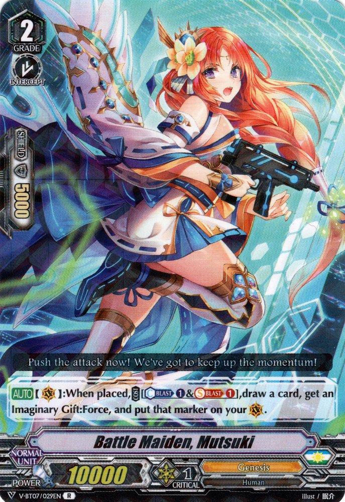 V-BT07/029EN Battle Maiden, Mutsuki Rare (R)