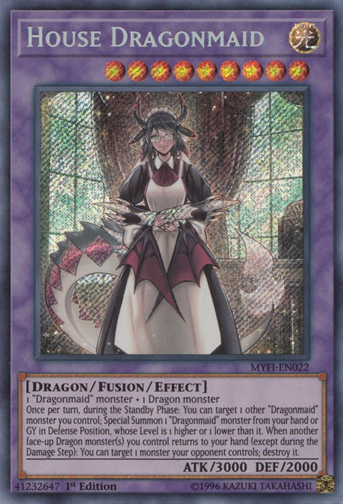 MYFI-EN022 House Dragonmaid Secret Rare