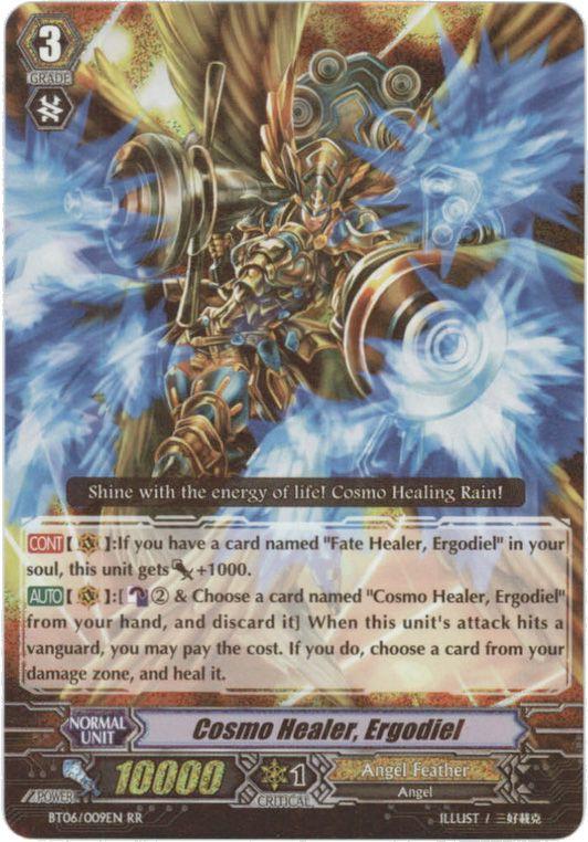 BT06/009EN Cosmo Healer, Ergodiel Double Rare (RR)