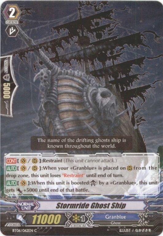 BT06/062EN Stormride Ghost Ship Commune (C)