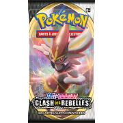 Booster Pokémon Épée et Bouclier 2 SS02 Clash des Rebelles