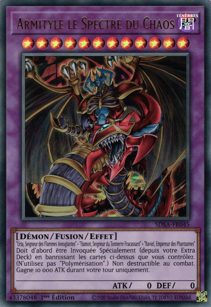 SDSA-FR045 Armityle le Fantôme du Chaos Ultra Rare