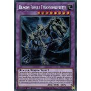 BLAR-FR009 Dragon Fossile Tyrannosquelette Secret Rare