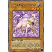 DP07-EN002 Crystal Beast Amethyst Cat Rare