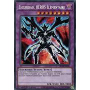 BLAR-FR056 Escuridao, HÉROS Élémentaire Secret Rare
