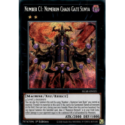 BLAR-EN021 Number C1: Numeron Chaos Gate Sunya Secret Rare