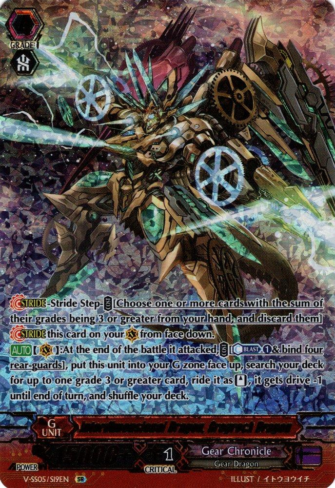 V-SS05/S19EN Interdimensional Dragon, Grogrock Dragon Secret Rare (SR)
