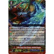V-SS05/022EN Blue Storm Steel Dragon, Genbold Dragon Triple Rare (RRR)