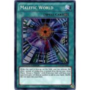 YMP1-EN008 Malefic World Secret Rare