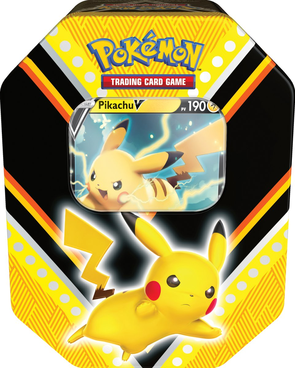 Pokébox Noël 2020 - Pikachu V
