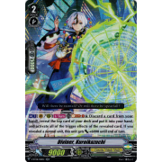 V-BT08/018EN Diviner, Kuroikazuchi Double Rare (RR)