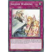 SDCH-EN036 Solemn Warning Commune