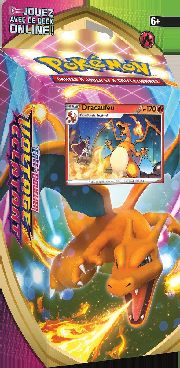 Deck Préconstruit Pokémon Épée et Bouclier 4 - Dracaufeu