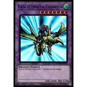 MAGO-FR025 Gaïa le Dragon Champion Premium Gold Rare