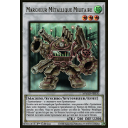 MAGO-FR030 Marcheur Métallique Militaire Premium Gold Rare