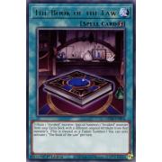 GEIM-EN054 The Book of the Law Rare