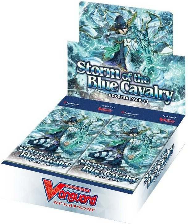 Boite de 16 Boosters Storm of the Blue Cavalry (V-BT11)