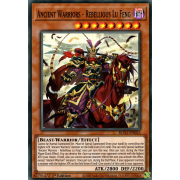 BLVO-EN025 Ancient Warriors - Rebellious Lu Feng Super Rare