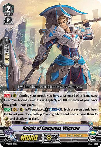 Knight of Conquest, Wigstan