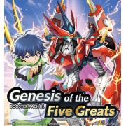 Carton Scellé Genesis of the Five Greats (D-BT01)