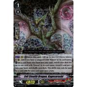 V-SS08/031EN Evil Stealth Dragon, Kagesarashi Triple Rare (RRR)