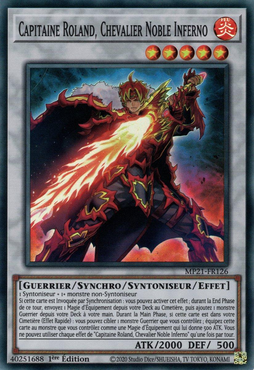 MP21-FR126 Capitaine Roland, Chevalier Noble Inferno Super Rare