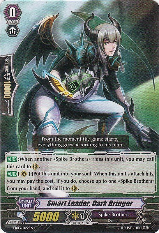 EB03/022EN Smart Leader, Dark Bringer Commune (C)