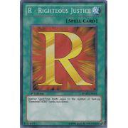 RYMP-EN025 R - Righteous Justice Secret Rare