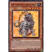 RYMP-FR043 Bête Cristalline : Tigre de Topaze Super Rare