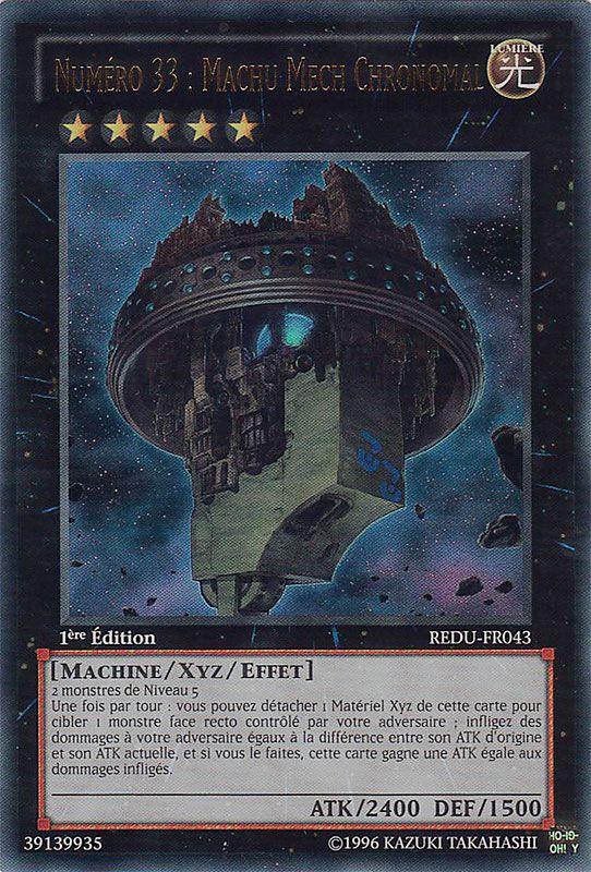REDU-FR043 Numéro 33 : Machu Mech Chronomal Ultra Rare