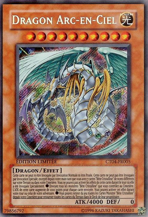 Postez vos cartes yu gi oh ici discussions g n rales - Dragon arc en ciel ...