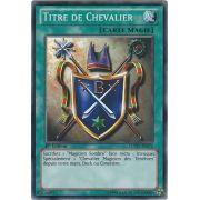 LCYW-FR072 Titre de Chevalier Commune