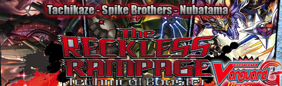 The RECKLESS RAMPAGE (G-TCB01)