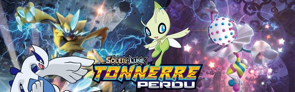 Booster Pokémon SL08 Soleil et Lune 8 Tonnerre Perdu